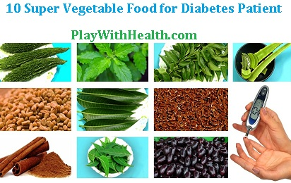 10 Super Vegetable Food for Diabetes Medications