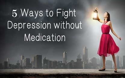 5 Natural Treatments To Dealing With Depression Without Medication