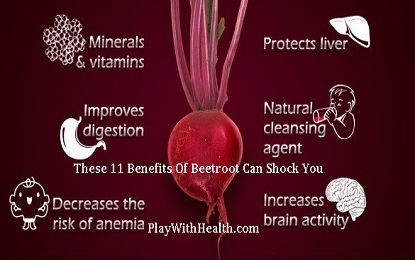 These 11 Benefits of Beetroot Can Shock You