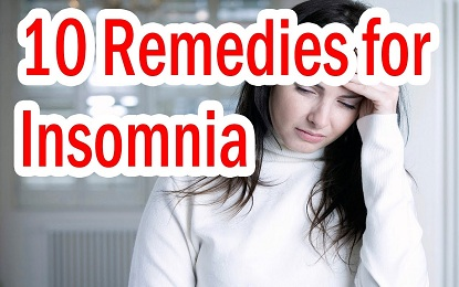 10 Causes and Home Remedies for Insomnia | Sleeping Disorder