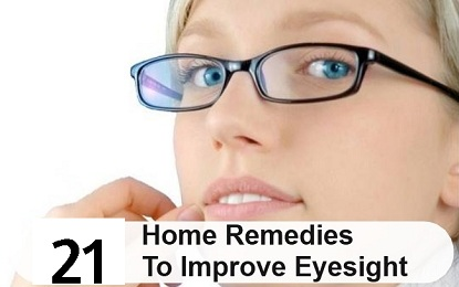 Did You Know These 21 Natural Home Remedies to improve Eye Sight