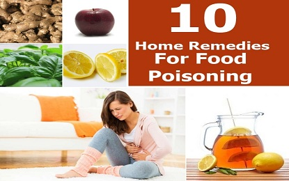 Symptoms and 10 Home Remedies of Food Poisoning