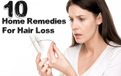Did You Know these 10 Natural Home Remedies to Cure Hair Fall
