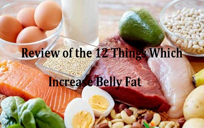 Review of the 12 Things Which Increase Belly Fat Rapidly