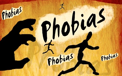 List of Phobias from A to Z by Name