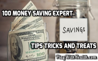 100 Money Saving Expert Tips Tricks and Treats