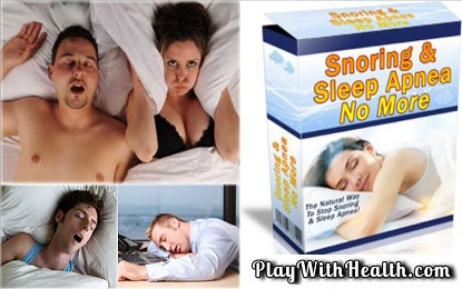 Snoring and Sleep Apnea No More Review - SnoringSleepApneaNoMore Fake or Legit
